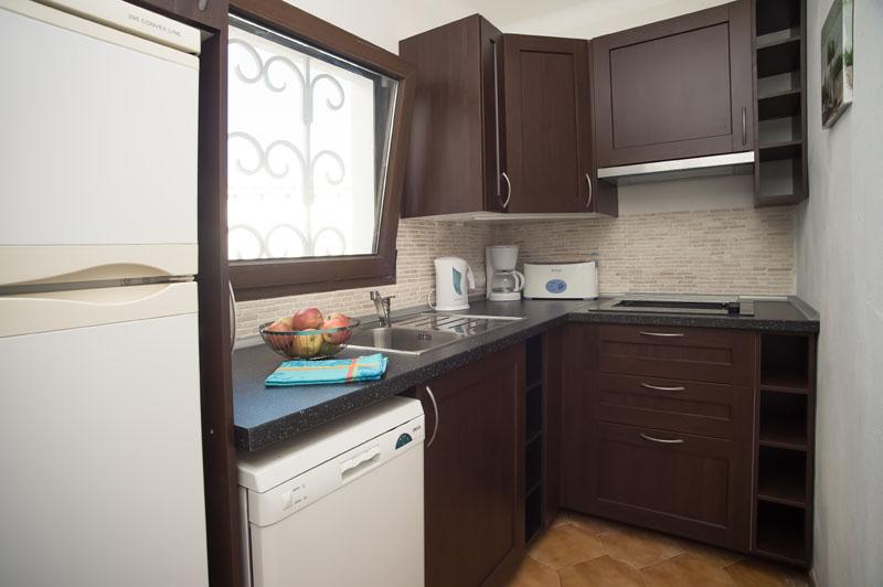 Küche 3  Ferienhaus Mallorca Südosten für 12 Personen PM 6587