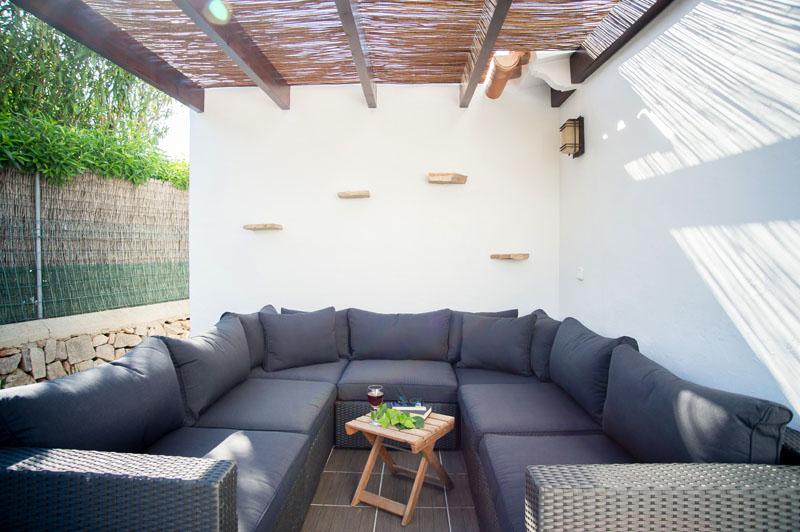 Lounge Sofas Ferienhaus Mallorca Südosten für 12 Personen PM 6587