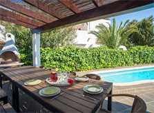 Pool und Terrasse Ferienhaus Mallorca Südosten PM 6587