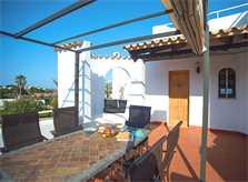 Terrasse Ferienhaus Mallorca Südosten für 12 Personen PM 6587