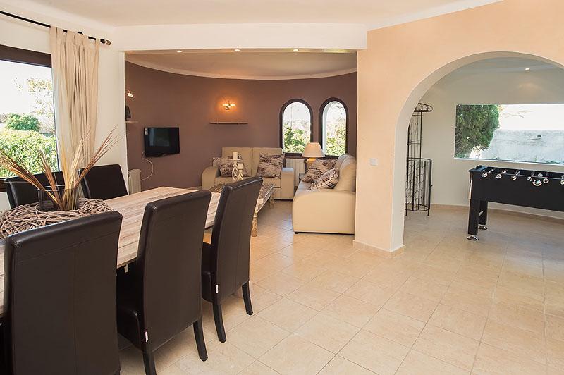 Wohnraum Ferienhaus Mallorca Südosten für 12 Personen PM 6587
