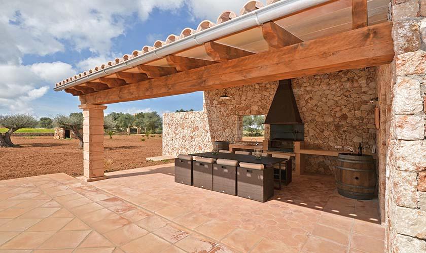 Terrasse Ferienfinca Mallorca 8-9 Personen PM 6930