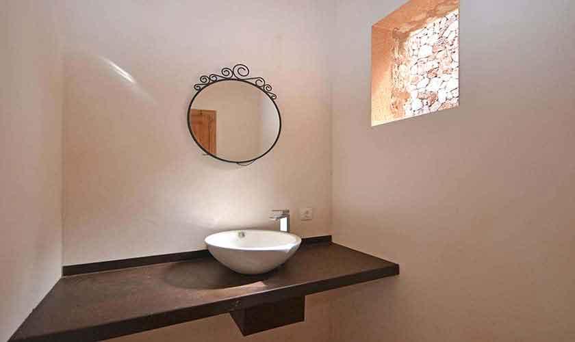 Badezimmer Ferienhaus Mallorca 8-9 Personen PM 6930