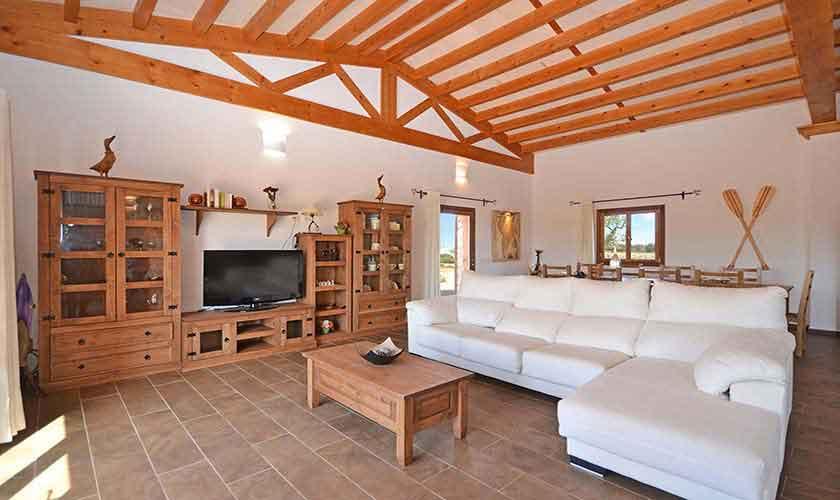 Wohnraum Ferienhaus Mallorca 8-9 Personen PM 6930