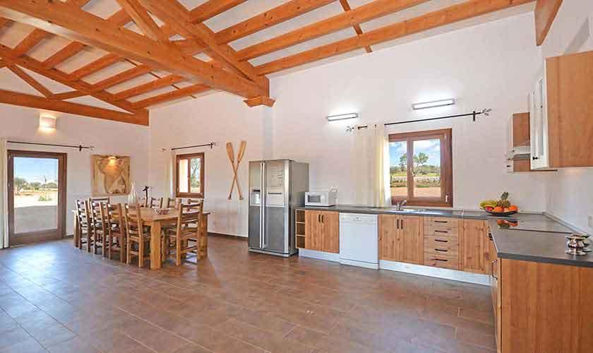 Küche Ferienhaus Mallorca 8-9 Personen PM 6930