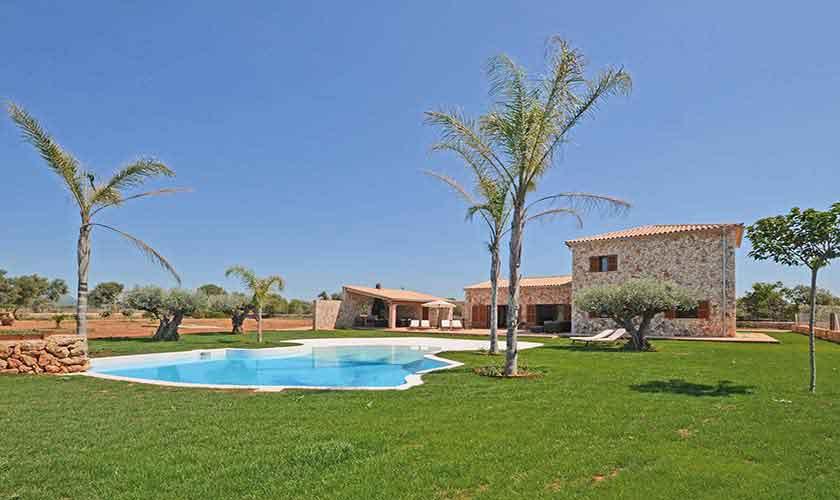 Pool und Ferienhaus Mallorca 8-9 Personen PM 6930